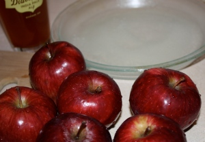 Apples and beer.